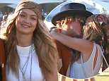 Indio, CA - Gigi Hadid and Cody Simpson are picture perfect as they hold hands and walk around Coachella with friends. AKM-GSI       April  12, 2015 To License These Photos, Please Contact : Steve Ginsburg (310) 505-8447 (323) 423-9397 steve@akmgsi.com sales@akmgsi.com or Maria Buda (917) 242-1505 mbuda@akmgsi.com ginsburgspalyinc@gmail.com