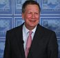 Ohio Gov. John Kasich speaks to the Detroit Economic Club on Monday, April 13, 2015 at Cobo Center in downtown Detroit. Kasich told business leaders in Detroit that that heís ìseriously consideringî a race for the 2016 Republican presidential nomination but isn't setting a timetable for a decision. (Ryan Garza/Detroit Free Press via AP) DETROIT NEWS OUT, TV OUT, INTERNET OUT, MAGS OUT, NO SALES, MANDATORY CREDIT DETROIT FREE PRESS