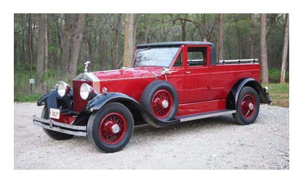 Custom Rolls Royce Truck