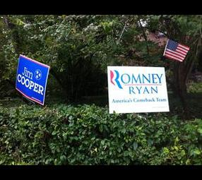 Tennessee Political Signs