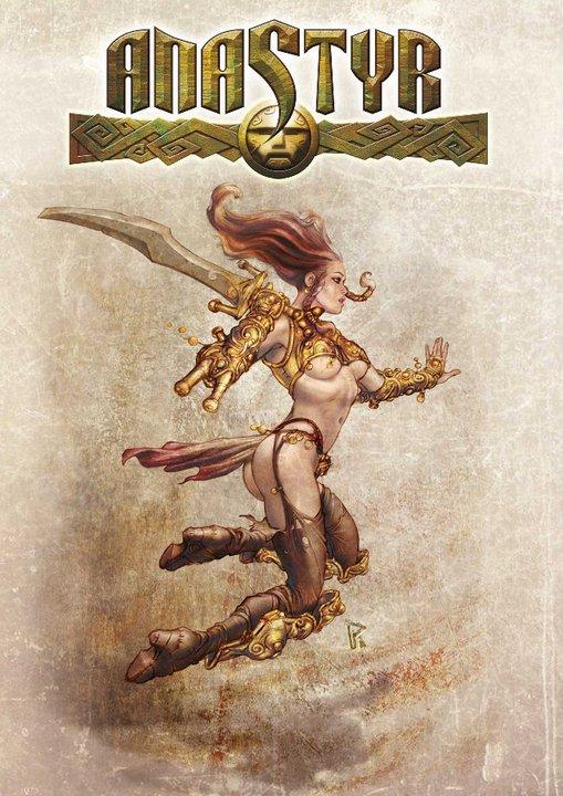 Paolo Parente Anastyr Female Warrior 2