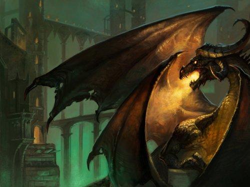 Дыхание дракона: в языках пламени