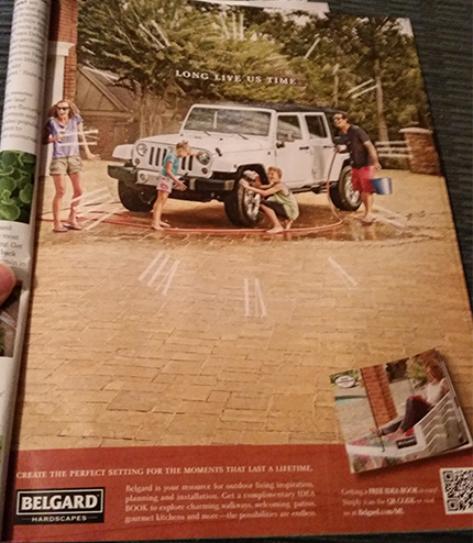 Belgard Hardscapes Ad Full