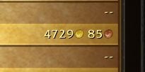 Gold stats for this toon