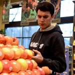 Sophomore business and marketing major Marcus Burton enjoys shopping at Safeway, because of its convenient downtown location on 2nd and Santa Clara streets, and its higher quality produce.