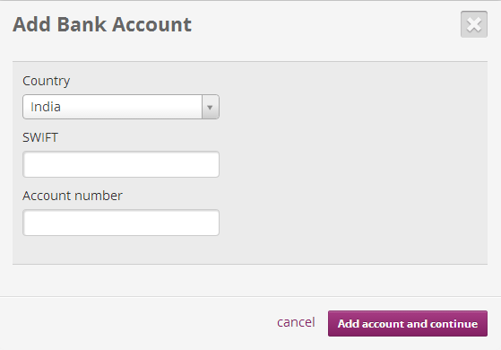 Skrill , Moneybookers Pop Up for Bank Account