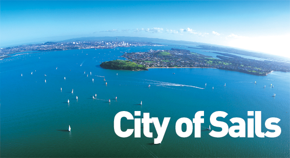 The beautiful Waitemata Harbour is Auckland's greatest natural asset © Gareth Eyres