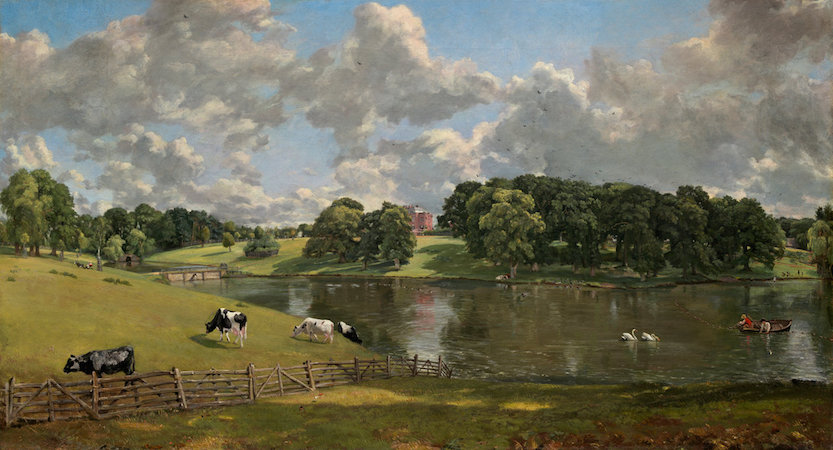 John Constable, Wivenhoe Park, 1816, oil on canvas, 56.1 x 101.2 cm (National Gallery of Art)