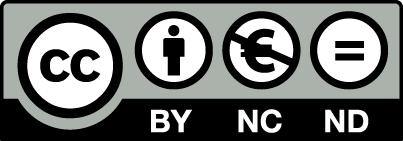 Creative Commons Attribution Non-Commercial No-Derivatives 3.0 License
