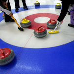 Curlers' Aim: Sweep to a Win Over the Heat