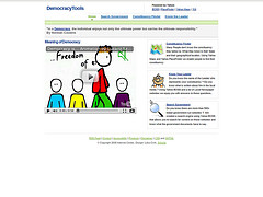 Democracy Tools Frontpage
