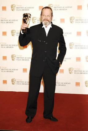 Terry Gilliam won Academy Fellowship at the Orange British Academy Film Awards in 2009