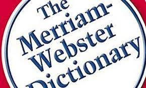 merrium webster dictionary