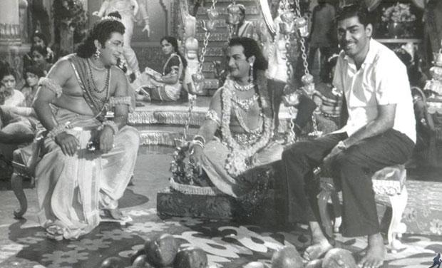 D Ramanaidu and NTR
