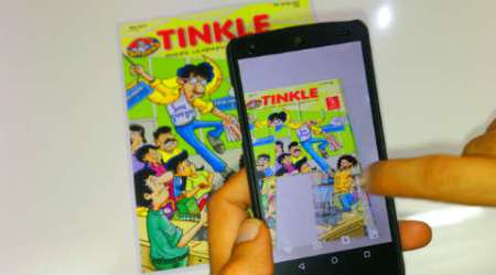 Blippar brings Tinkle to life, now play darts with Supandi