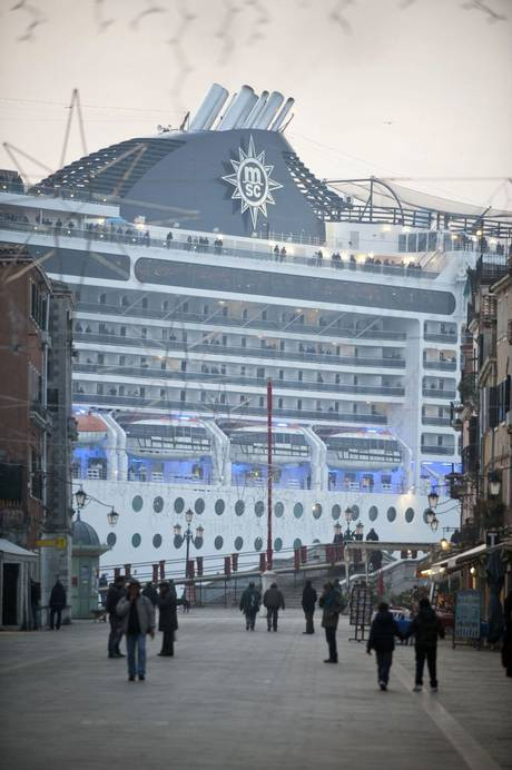 Cruise control: over the past 15 years, cruise ship tourism has increased fivefold and the monstrous vessels, such as MSC Magnifica, have become both a boon and a blight for the city