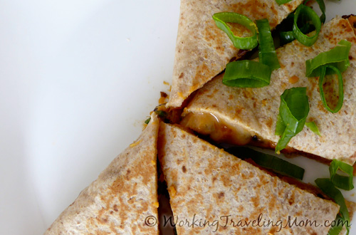 black bean sweet potato quesadillas1