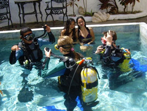 puerto galera scuba diving course