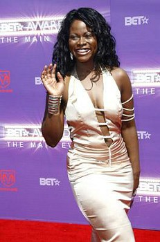 Abiola Abrams, BET Awards Red Carpet
