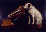 "Barrauds Gemälde ""His Master's Voice"""