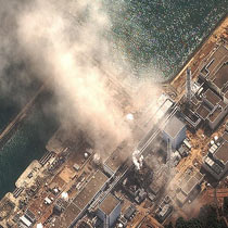 直击:福岛第一核电站三度爆炸