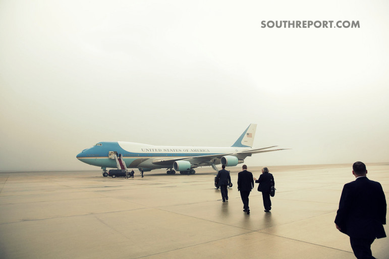 Airforce One Boarding Time