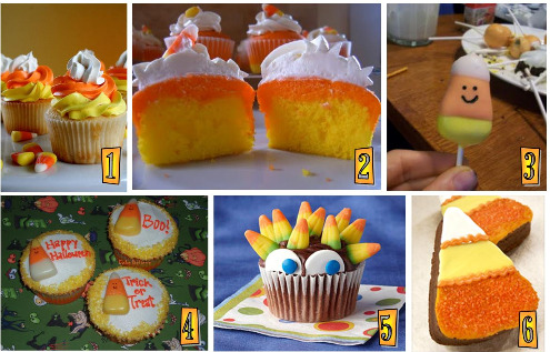 Candy Corn Cupcakes by the Curvy Carrot – These I think are great