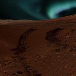 Marte-auroras