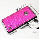 Coque strass rose pour Nokia Lumia 520