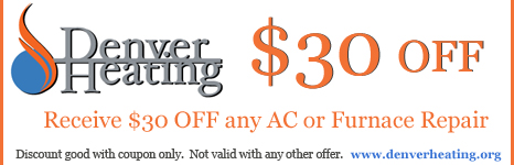 Denver HVAC Repair Coupon