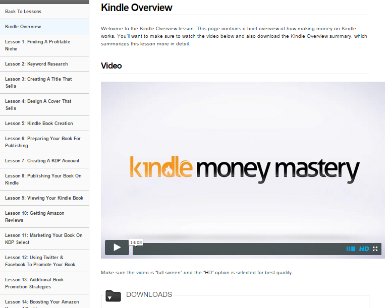 So What is Kindle Money Mastery?