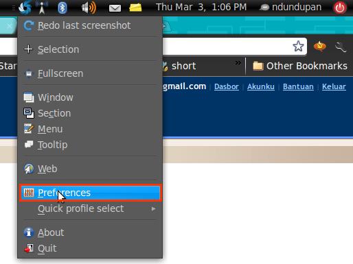 Tandai Screenshot dengan Shutter 1