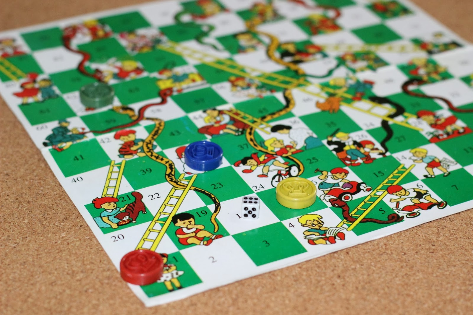 snake and ladder - How To Play 13 Malaysian '90s Childhood Games (PHOTOS)