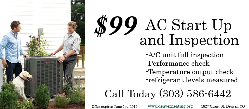 Air Conditioning Tune-Up special