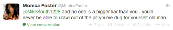 Foster v South The Non Answering Answer: Monica Foster Files The Greatest Pleading Ever