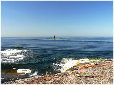Волны от Silja Line
