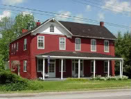 home of Laura Jackson Arnold, ardent Unionist and sister of General Stonewall Jackson