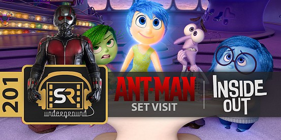 Ant-Man Preview & Inside Out – SR Underground Ep. 201