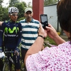 Colombian cyclist Nairo Quintana poses for a snapshot during a training session this month in Colombia.