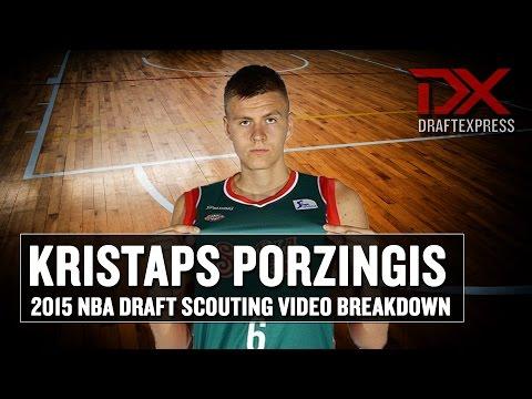 Kristaps Porzingis 2015 NBA Draft Scouting Video