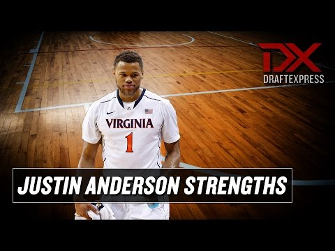 Justin Anderson 2015 NBA Draft Scouting Video - Strengths