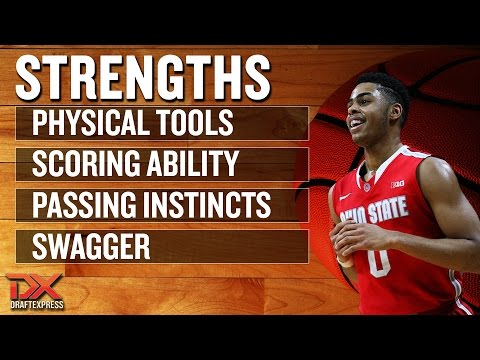 D'Angelo Russell 2015 NBA Draft Scouting Video - Strengths