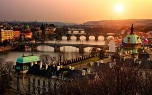 Prague virtual tour app