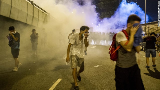 When police used tear gas on unarmed Hong Kong students, they unwittingly created a massive movement.