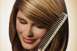 Мелирование на коричневые волосы1