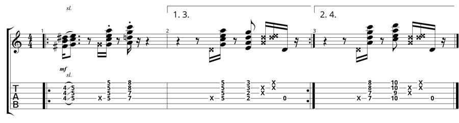 Quartal Pentatonics - Static Chord Vamp with Quartals