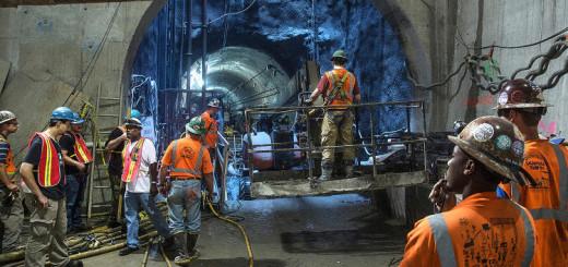 Mengintip Terowongan Kereta Bawah Tanah Yang Belum Selesai di New York
