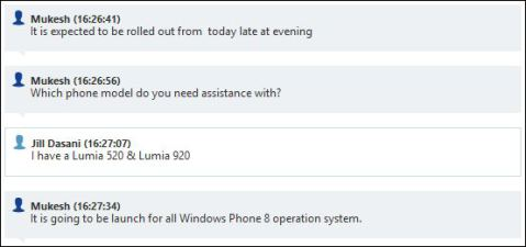 Lumia Amber launching today in India 2