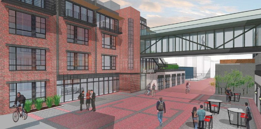 SB Urban's Blagden Alley Design Deemed Incompatible with Historic Alley