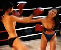 泰国地下裸体泰拳比赛旧照